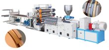 PVC edge banding Extruder making machine