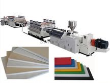 Plastic WPC PVC Foam Board extruder making machine