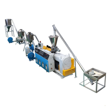 PVC Compounding Granulating Extrusion Machine